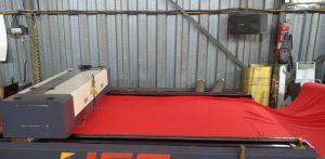 Jasa laser cutting kain