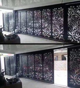 pembuatan pagar motif laser cutting#7